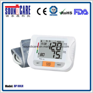 Clinical Ce FDA Upper Arm Blood Pressure Monitor (BP80LH) pictures & photos
