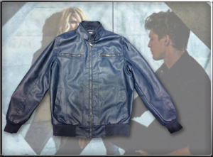 Men′s PU Jacket with Good Quality pictures & photos