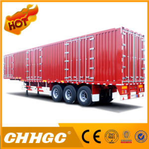 Special Van Type Semi-Trailer for Carrying Coal/Clinker/Cement