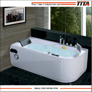 Jet Whirlpool Bathtub with TV Tmb040 pictures & photos