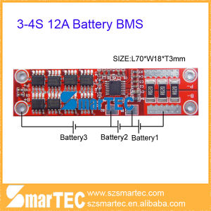 3s 11.1V Li-ion Battery BMS Factory