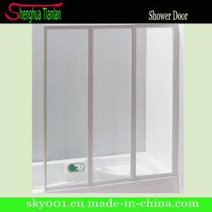New 3 Panel Glass Door Fiberglass Shower Stall (TL-425) pictures & photos