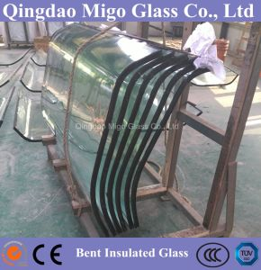 4mm+6A+4mm Hot Bent Insulated Glass for Chilled Food Display pictures & photos