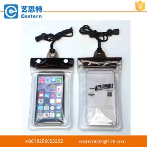 China Supplier Cheap Promotional Closure PVC Waterproof Phone Bag pictures & photos