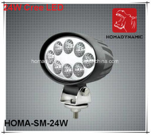 6 Inch 24W LED Work Light LED Driving Light 4WD Light for SUV Jeep pictures & photos
