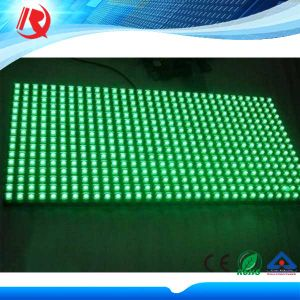 Green Color P10 Semi-Outdoor LED Display pictures & photos