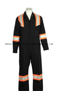 T/C Industrial Safety Protective Work Coverall pictures & photos