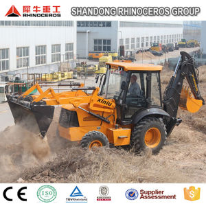 Hot Sale Brand New Wheel Loader Moving Type and Backhoe Loader Type Avant Tractor for Sale pictures & photos