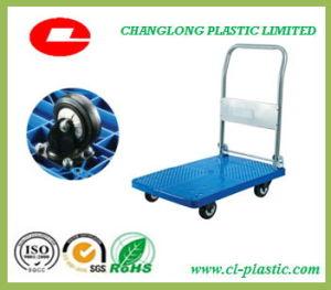 Plastic Platform Folding Handtruck/ Trolley