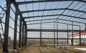 Prefabricated Steel Frame House Prefabricated House with Light Steel Structure pictures & photos