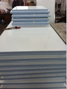 Fireproofed Insulation PU Sandwich Panel pictures & photos