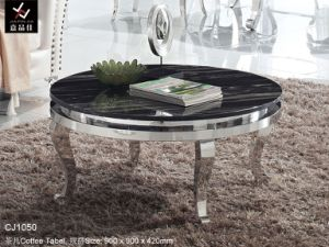 Hotel Round Coffee Table/ Stainless Steel Round Coffee Table (CJ1050)
