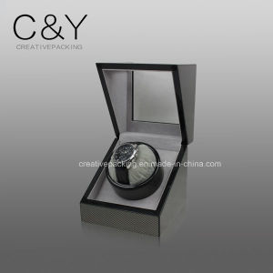 High Gloss Lacquer Surface Finish Wooden Automatic Single Watch Winder pictures & photos