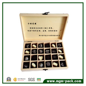 Hot Sell Custom Bamboo Wooden Chocolate Box pictures & photos