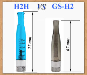 2013 New Products H2h Clearomizer with Replaceable Coil