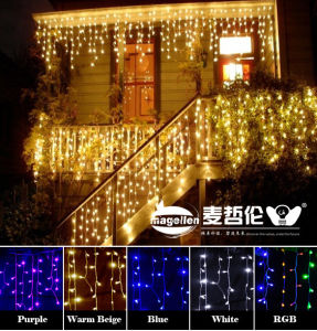 LED Icicle, String Light, LED Lights New Year Garden Xmas Wedding Party pictures & photos