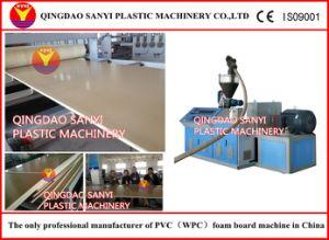 Plastic Machine-PVC Free Foam Sheet Extrusion Line pictures & photos
