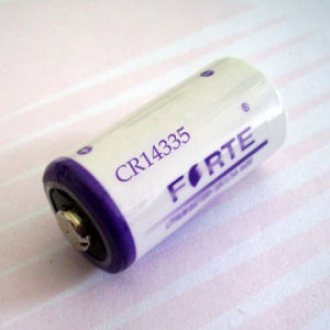 Cr14335 Size 2/3 AA Lithium Battery for Memory Power pictures & photos