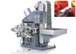 Automatic Multi Color Hot Foil Stamping Machine Side Printing