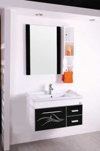 Bathroom Cabinet PVC Bathroom Cabinet Vanity (W-118)