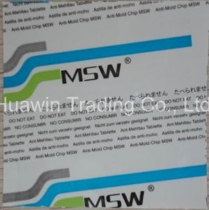 how to use anti mold sticker
