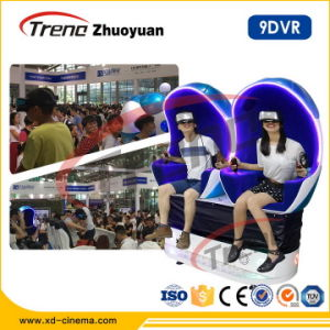 Amusement Game Virtual Reality Dynamic 9d Egg Vr Cinema Simulator pictures & photos