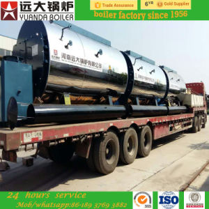 1ton/2ton/4ton Per Hour Diesel Oil/Gas Fired Steam and Hot Water Boiler pictures & photos