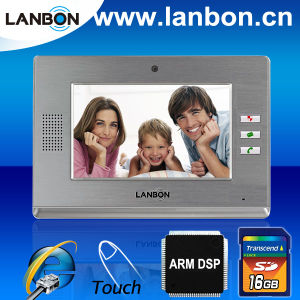 7-Inch LCD Touch Screen Video Door Phone