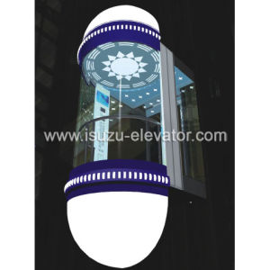 Isuzu Machine Roomless Panoramic Elevator pictures & photos