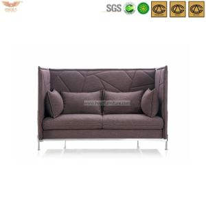 Modern Waiting Area Fabric High Back Sofa-Hls-023 pictures & photos