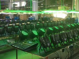54PCS 3W RGBW Disco Stage Light LED PAR Can Light pictures & photos