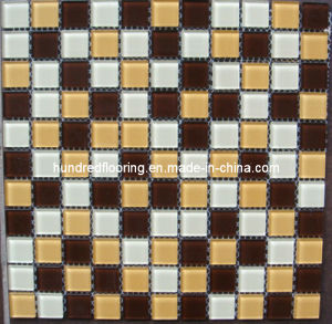 Crystal Glass Mosaic Tile (HS108) pictures & photos