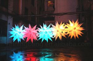 Diameter 1.5m Inflatable Star for Wedding Decoration pictures & photos