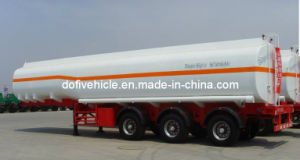 35000L Carbon Steel Tanker Trailer with Three Axles