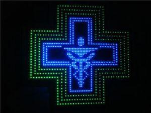 LED Mini Cross Sign