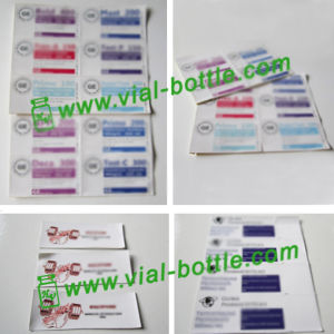 Custom Printing Labels Sticker for Glass Vial, Serum Vial or Plastic Bottle pictures & photos