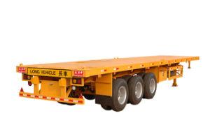 40ft Three-Axle Platform / Flatbed/Flat Top Semi Trailer (FTW9391TJZP)