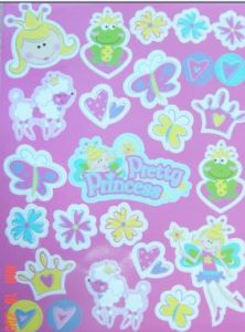 Princess Rubber Magnet (884)