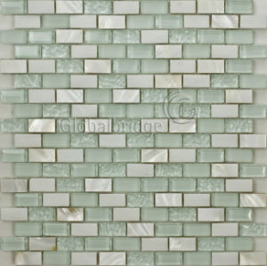 Crystal & Mother of Pearl Mix Mosaic Tile (M8CPYC31)