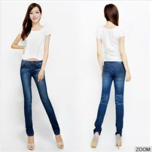 2016 Wholesale Fashion Jeans for Lady pictures & photos