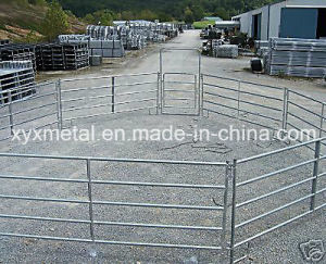 Temporary Portable Galvanized Horse Rail Fence Panel pictures & photos
