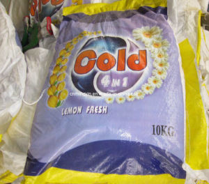 10kg Bulk Washing Powder with Coloured Bag pictures & photos