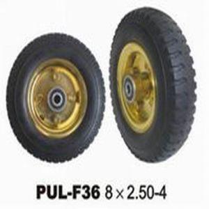 8*2.5-4 PU Foamed Wheelbarrow Tire pictures & photos