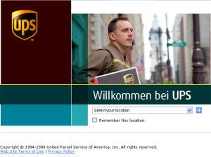 UPS Express to USA
