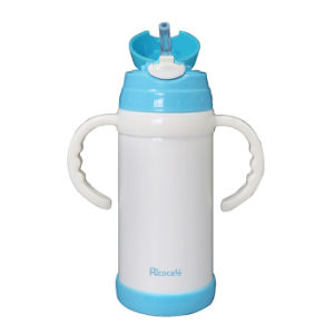 Stainless Steel Kids Water Bottle with Double Handle 350ml pictures & photos