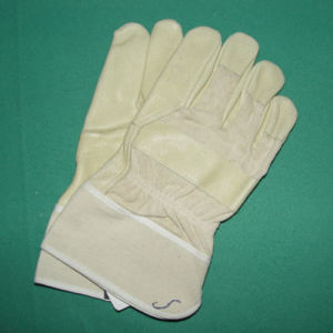 Leather Working Protecting Gloves pictures & photos
