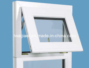 PVC Awning Window With Fixed Panel pictures & photos