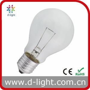 A60 Clear Standard Incandescent Bulb pictures & photos
