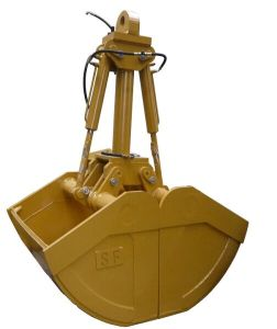 Excavator Attachments Clamshell Buckets Hydrauclic Clamshell Grab Bucket pictures & photos