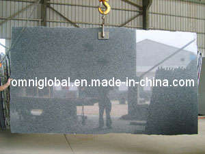 G654 Dark Grey Polished Granite Slab